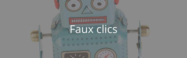 Les services de faux clics