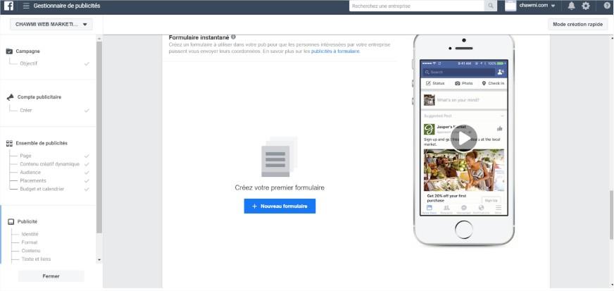 stratégie facebook ads