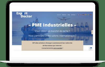 creation site internet industrie